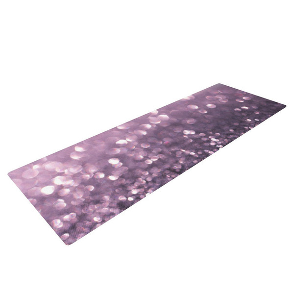 Purple Rain Yoga Mat - live it!