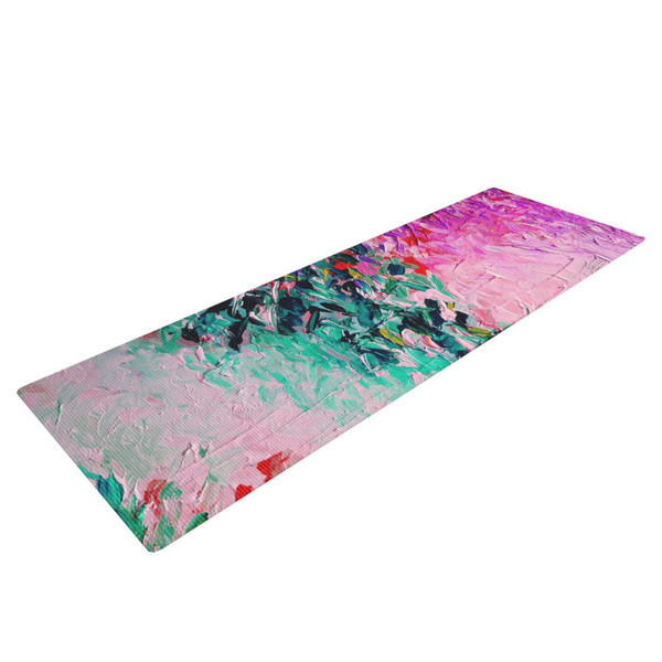 Monet Painting Style Yoga mat - the brush strokes come to life