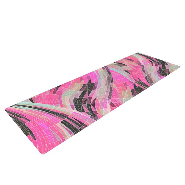 Italian Marbled Pink Yoga Mat
