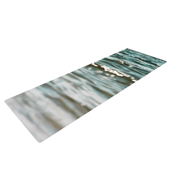 Sea Ripples Yoga Mat - immerse yourself in this