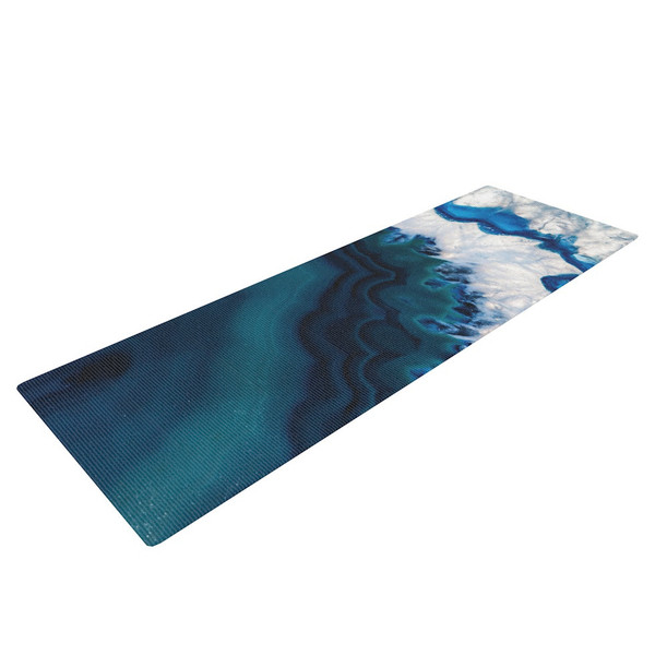 Blue Geode Yoga Mat - the treasures of Mother Earth