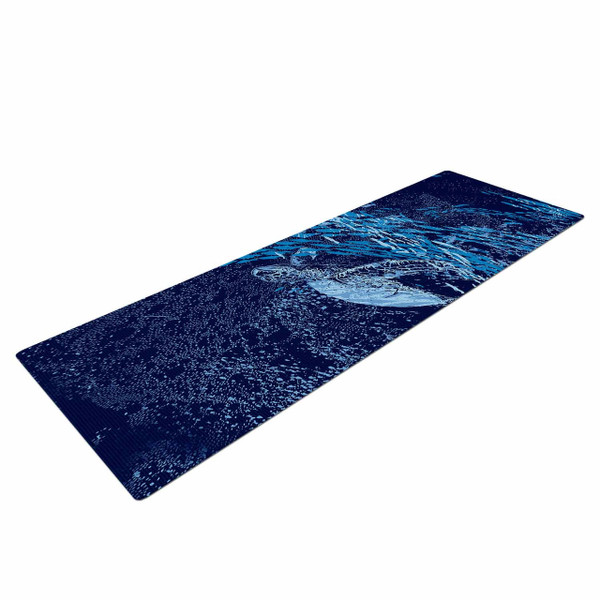Sea Turtle Yoga Mat - as at home in the sea as these majestic wonders