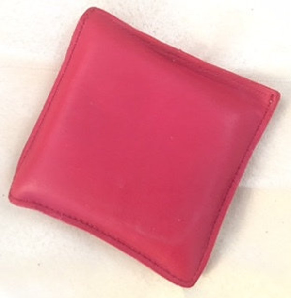 Italian leather paperweight