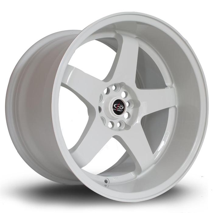Rota GTR-D 18x12 ET20 5x114 White