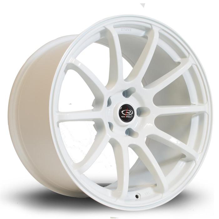 Rota Force 18x10.5 ET20 5x114 White