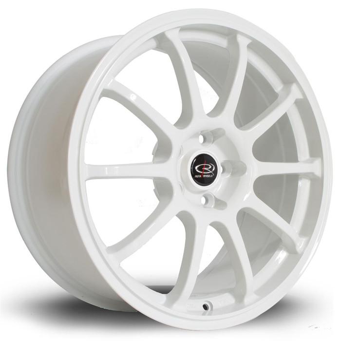 Rota Force 17x8 ET35 5x100 White