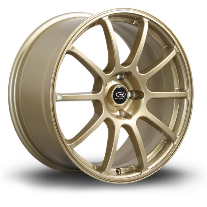 Rota Force 18x8.5 ET48 5x114 Gold
