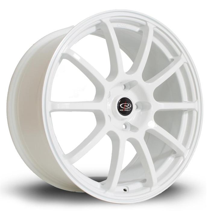 Rota Force 18x8.5 ET48 5x100 White