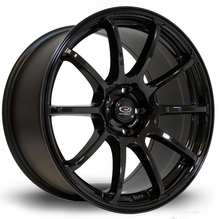 Rota Force 18x9 ET27 5x114 Black