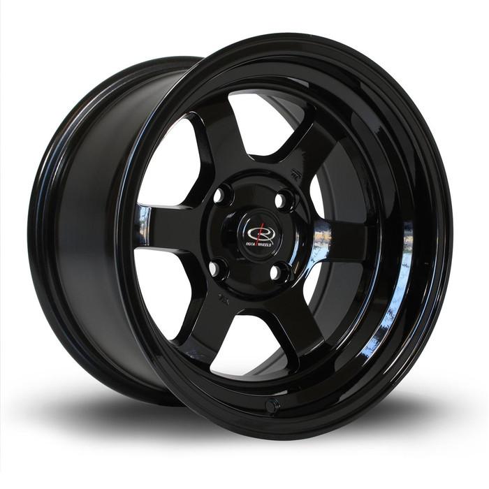 Rota Grid-V 15x8 ET0 4x100 Black