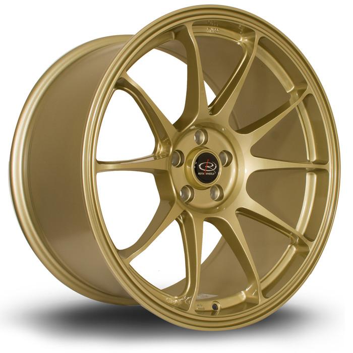 Rota Titan 18x9.5 ET35 5x100 Gold
