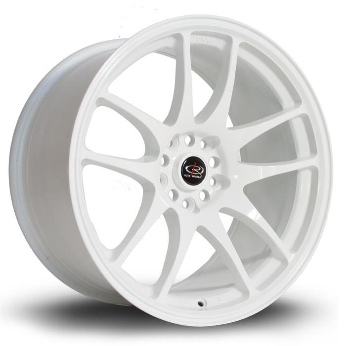 Rota Torque 18x9.5 ET30 5x114 White