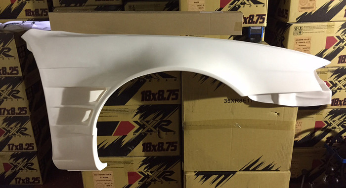 S14a +45mm front fenders
