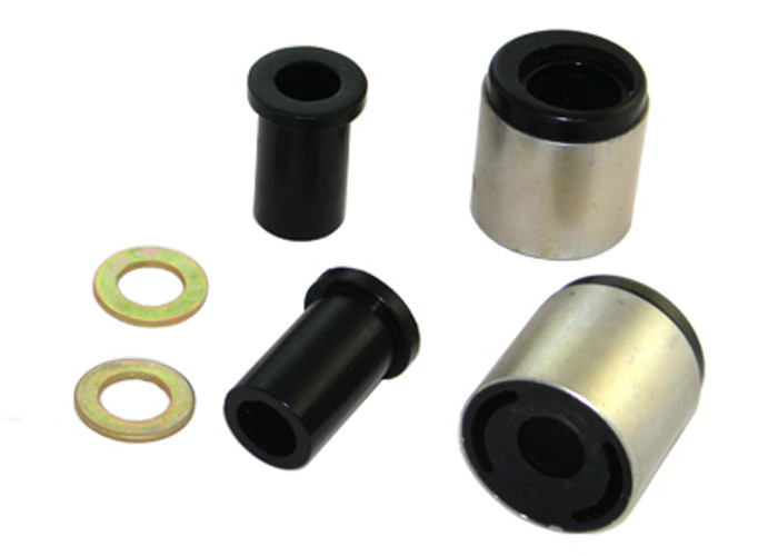 Whiteline W53401 Front Control arm - lower inner rear bushing MAZDA DEMIO DY   12/2002-8/2007 4CYL-srbpower-com