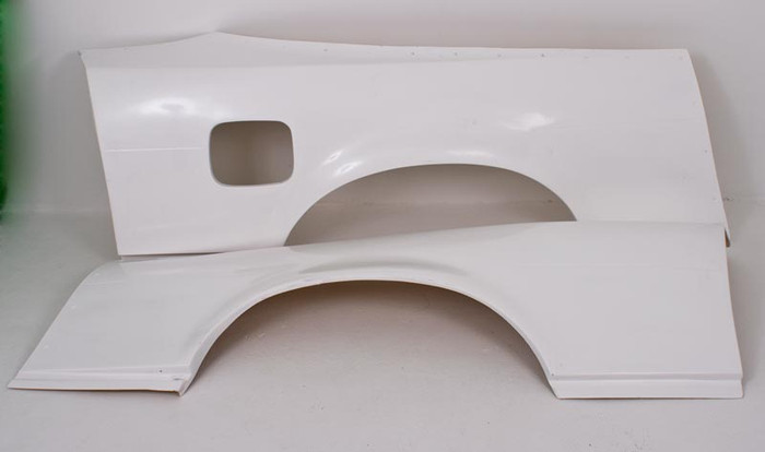 SRB POWER - NISSAN S13 / 180SX +70mm Type KP REAR FENDERS