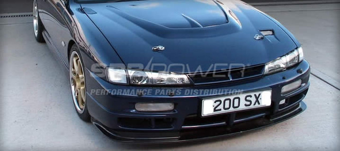 SRB POWER - S14A FIBREGLASS FRONT SPLITTER TYPE 1