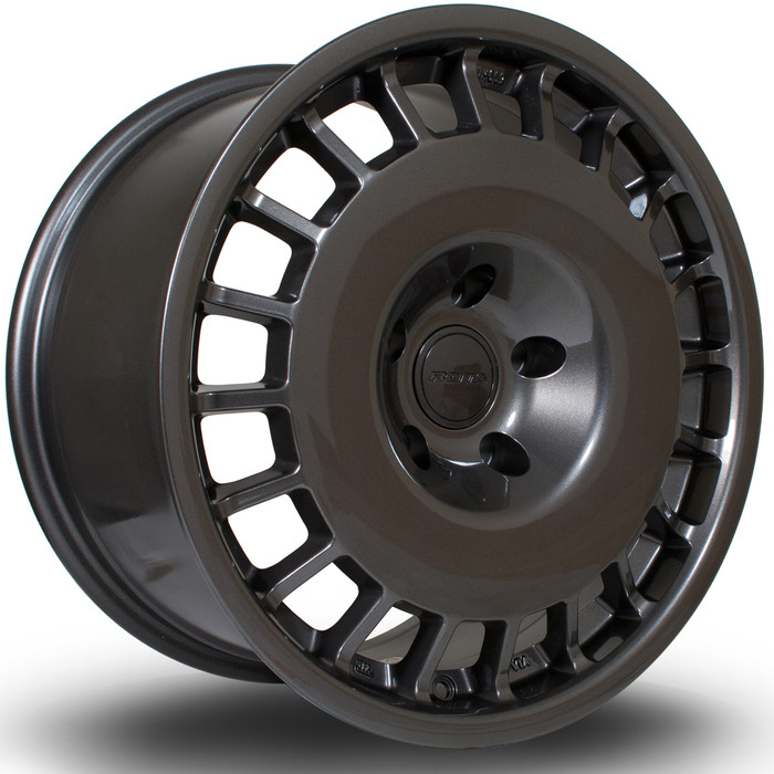 Rota D154 17x8 ET42 4x108 Gunmetal srbpower.com