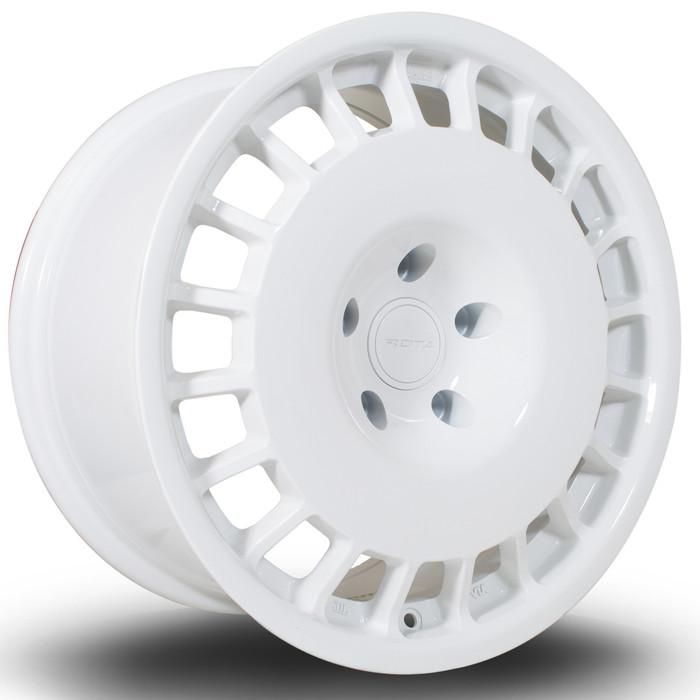 Rota D154 17x8.5 ET35 5x100 White srbpower.com