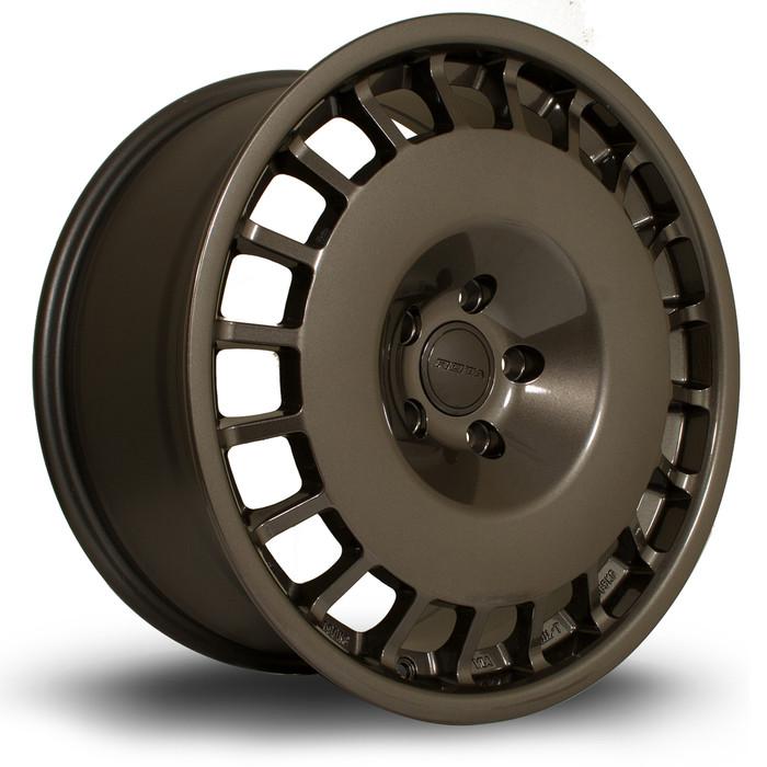 Rota D154 18x8.5 ET20 4x108 Gunmetal srbpower.com