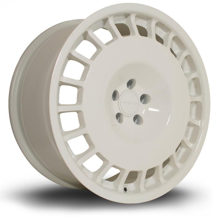 Rota D154 18x8.5 ET35 4x108 White srbpower.com