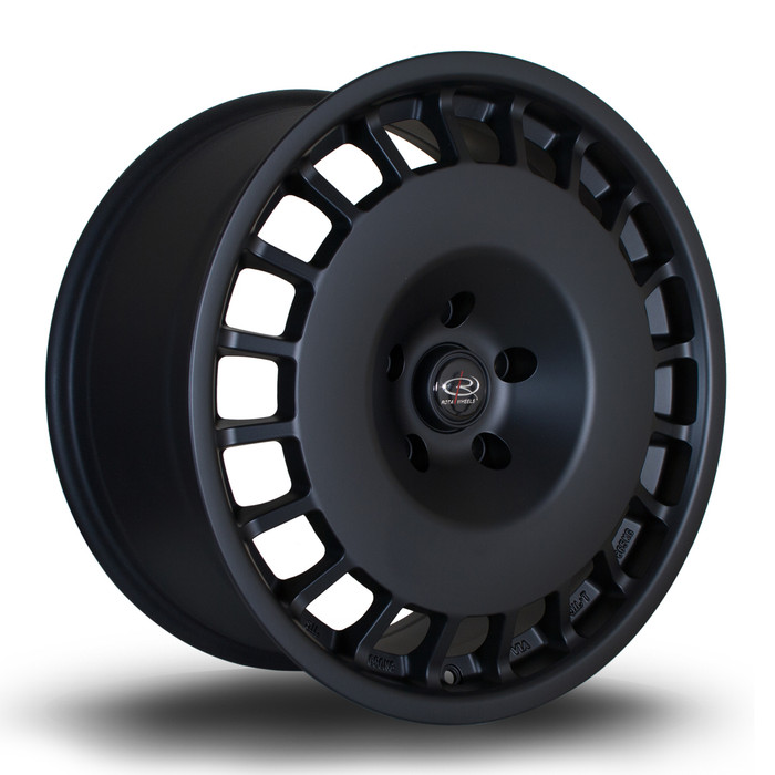 Rota D154 18x8.5 ET35 5x120 FBlack srbpower.com