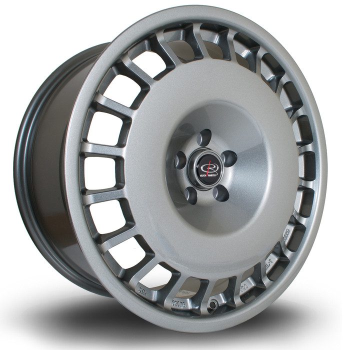Rota D154 18x8.5 ET30 5x100 Steelgrey srbpower.com
