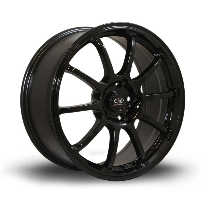 Rota Force 17x8 ET35 5x100 Black srbpower.com