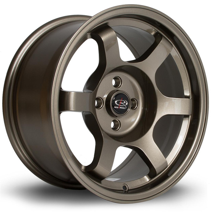 Rota Grid 16x8 ET20 5x100 Bronze srbpower.com