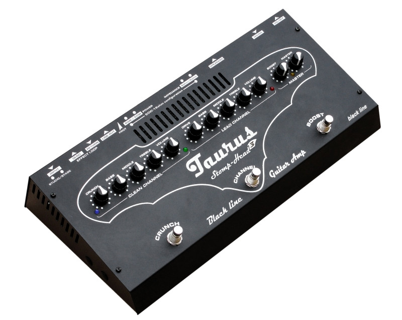 Taurus Stomp-Head 3.Black Line
