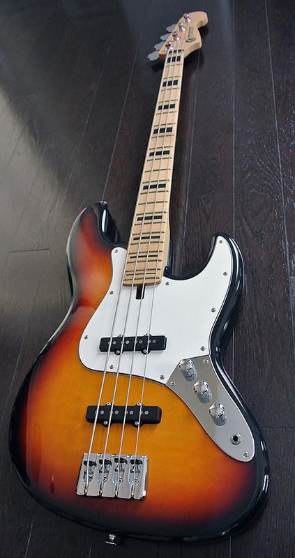 Maruszczyk Instruments - ELWOOD 4P - 4 String Bass in 3 Tone Sunburst