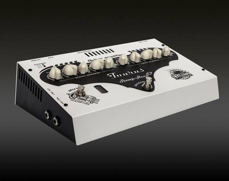 Taurus Stomp-Head 2.CL - Classic 60 Watt Ultra light analog amplifier Master Tube Design