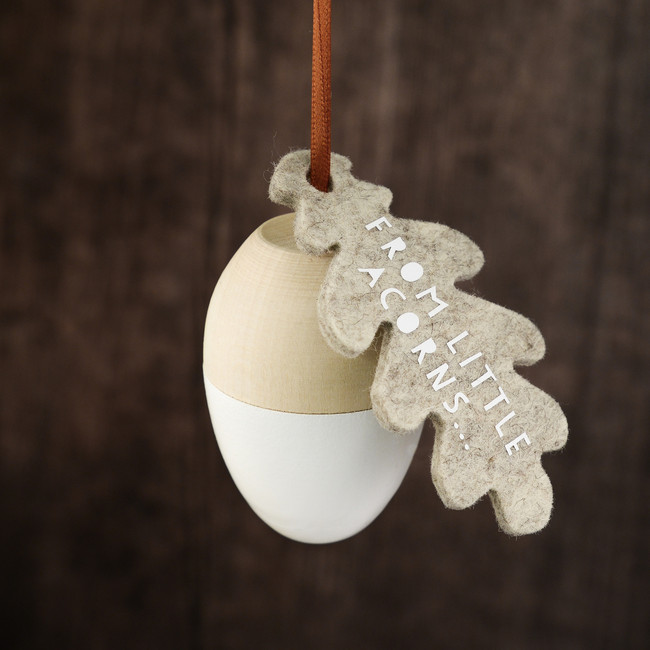 From Little Acorns Christening Keepsake Gift