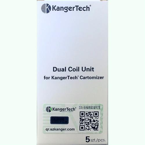 Kanger Dual Coil (White Box) (5 Pack)