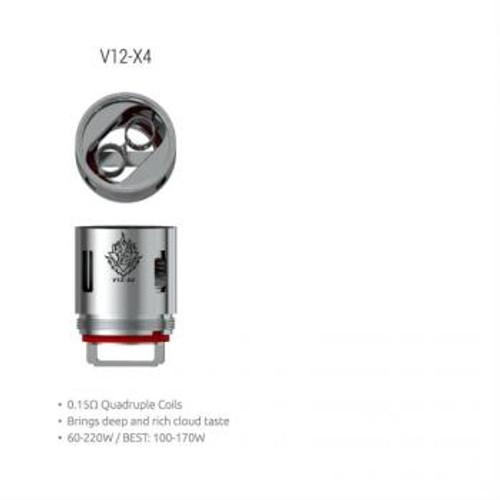 SMOK TFV12-Q4 Coil (3 Pack)