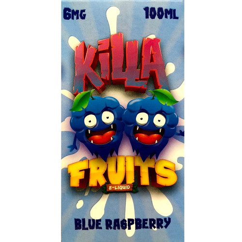 Blue Raspberry (100 ml) Killa Fruits