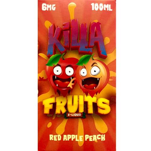 Red Apple Peach (100ml) Killa Fruits