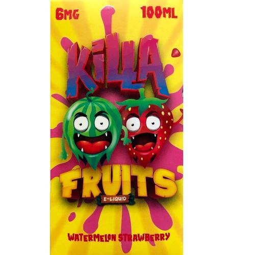 Watermelon Strawberry (100 ml) Killa Fruits
