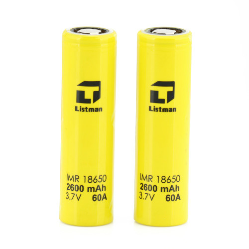 Listman 2600mah 60A battery