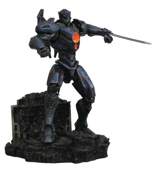 pacific rim: uprising gipsy avenger 10-inch collectible pvc