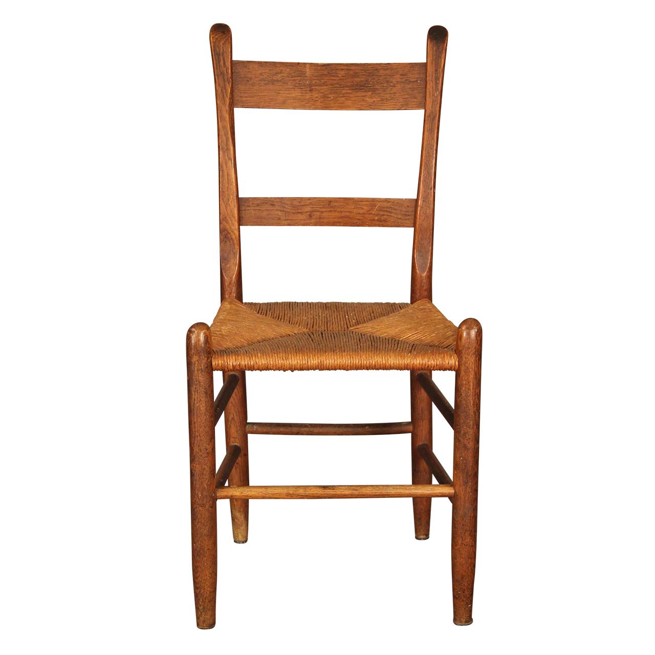 Antique Rush-Seat Shaker Chair Antique Rush-Seat Shaker Chair ... - Antique Rush-Seat Shaker Chair - IATESTA STUDIO