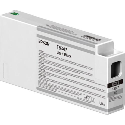Epson T834700 UltraChrome HD Light Black Ink Cartridge (150ml)