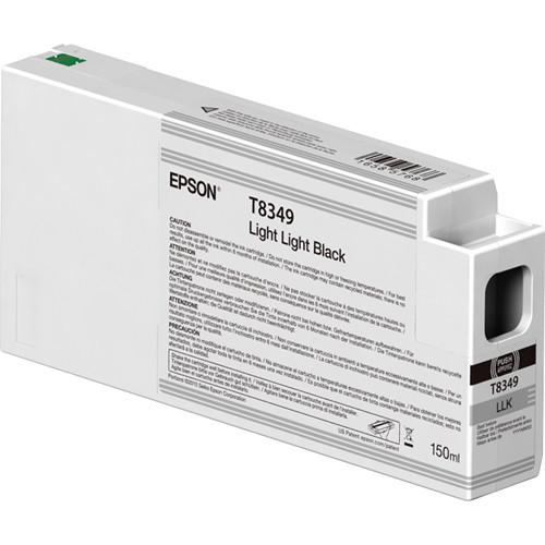 Epson T834900 UltraChrome HD Light Light Black Ink Cartridge (150ml)