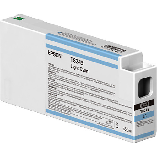 Epson T824500 UltraChrome HD Light Cyan Ink Cartridge (350ml)