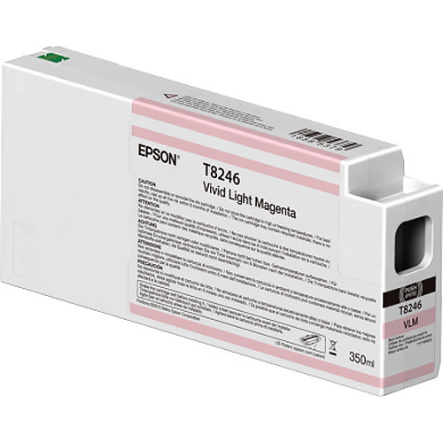 Epson T824600 UltraChrome HD Vivid Light Magenta Ink Cartridge (350ml)