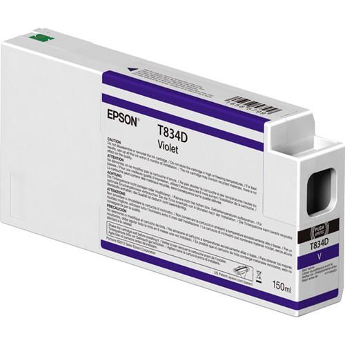 Epson T834D00 UltraChrome HDX Violet Ink Cartridge (150ml)