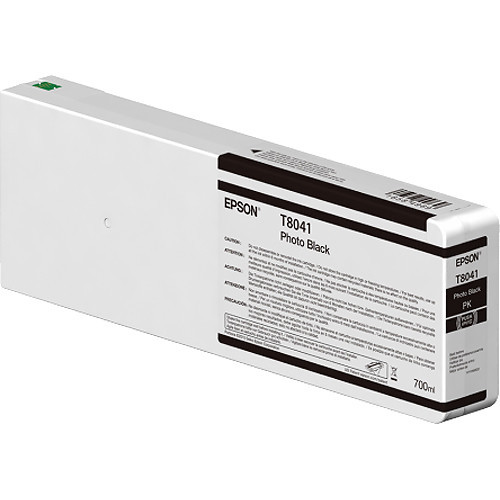 Epson T804100 UltraChrome HD Photo Black Ink Cartridge (700ml)