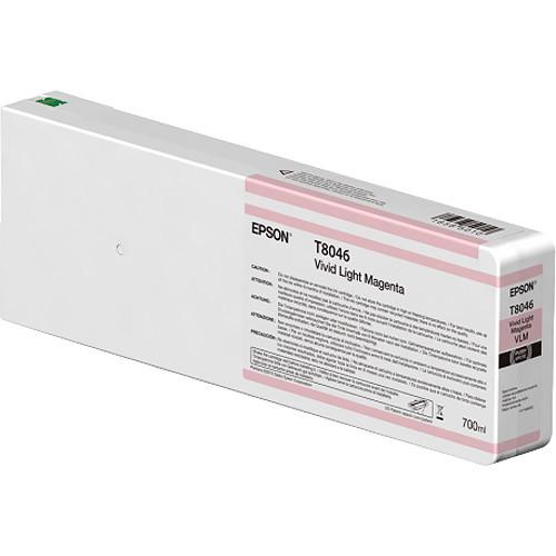 Epson T804600 UltraChrome HD Vivid Light Magenta Ink Cartridge (700ml)