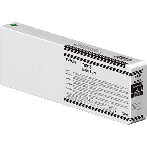 Epson T804800 UltraChrome HD Matte Black Ink Cartridge (700ml)