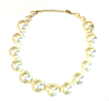 Big Chunky Ivory Pearl Necklace
