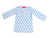 Childrens Tunic Blue Turtles